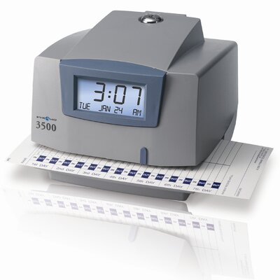 3500 Multi-Purpose Time Clock and Document Stamp