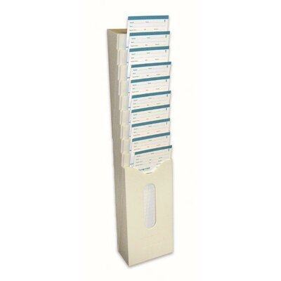 Time Card Rack for Pyramid 2400 Time Cards