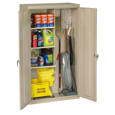 Tennsco Janitorial 36 x 64 Surface Mount Medicine Cabinet Finish: Putty