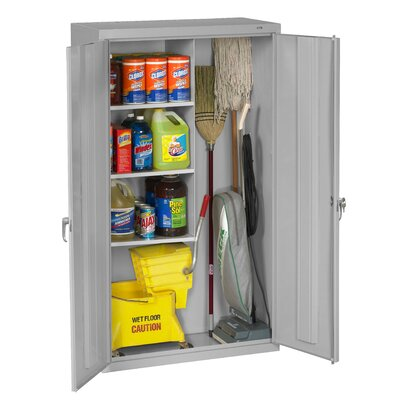 Tennsco Janitorial 36 x 64 Surface Mount Medicine Cabinet Finish: Light Gray
