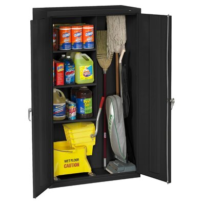 Tennsco Janitorial 36 x 64 Surface Mount Medicine Cabinet Finish: Black