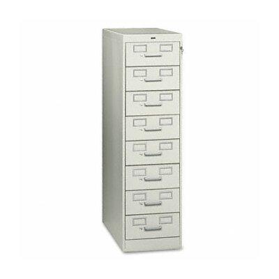 Tennsco Eight-Drawer Multimedia Filling Cabinet