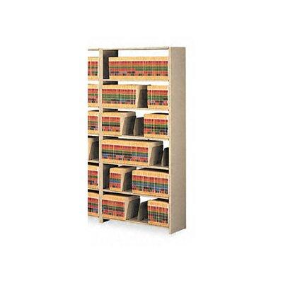 Tennsco Snap-Together 6-Shelf Closed Starter Set Open Filing Unit
