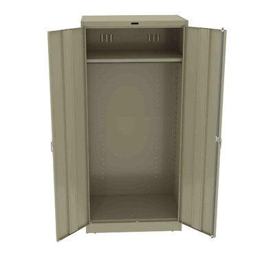 Armoire Color: Sand, Doors: Standard