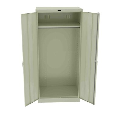Armoire Color: Medium Grey, Doors: Standard