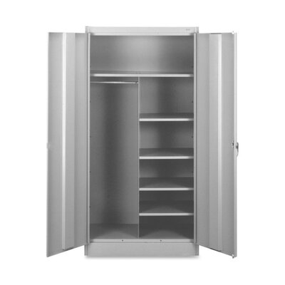 Combination 2 Door Storage Cabinet Color: Light Gray Product Photo 139