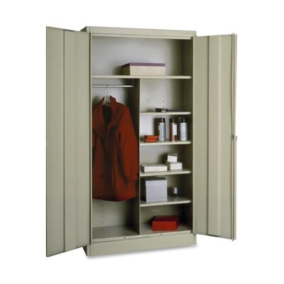 Combination 2 Door Storage Cabinet Color: Putty Product Picture 2577