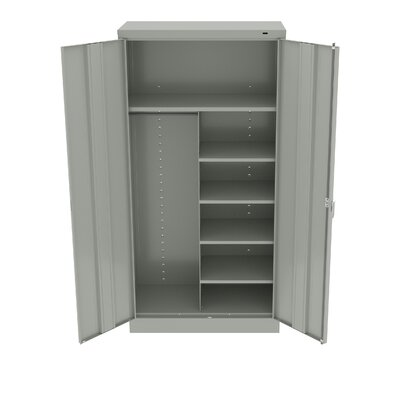 Armoire Color: Light Grey