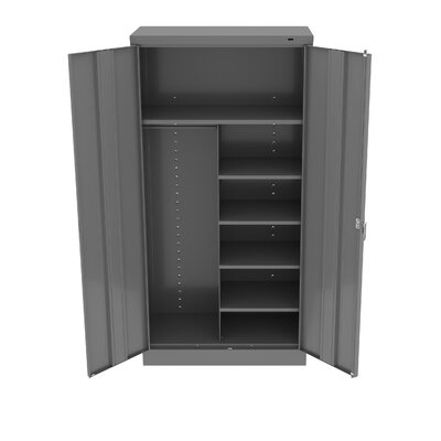Armoire Color: Medium Grey