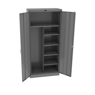 Armoire Doors: Standard, Color: Medium Grey