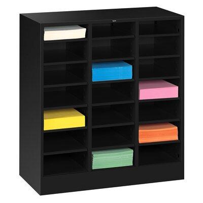 Letter Size Literature Sorter Color: Black