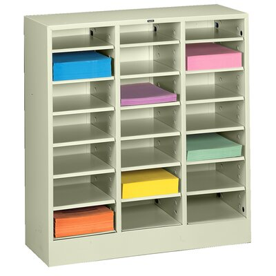 Letter Size Literature Sorter Color: Champagne Putty