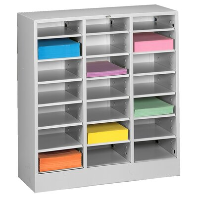 Letter Size Literature Sorter Color: Light Grey
