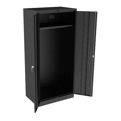 Armoire Doors: Standard, Color: Black