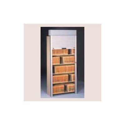 Tambour Door Open Filing Unit for Imperial Filing Cabinet Size: 36 x 76