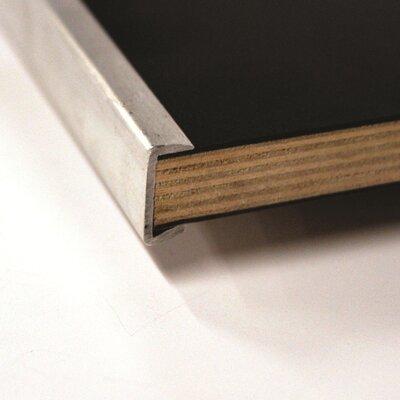 "Maywood Furniture Original Series Rect. Folding Table -Frame Finish:Silver, Size:30""x72"", Top / Edge:Laminate Windsor Mahogany/Channel Aluminum (C at Sears.com"