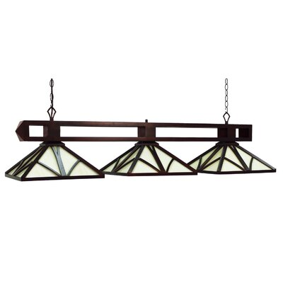 Chateau 3-Light Billiard Light Finish: English Tudor