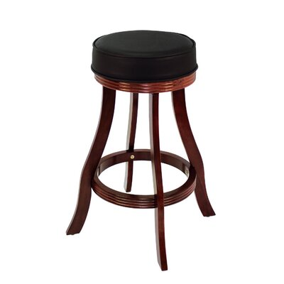 30 Swivel Bar Stool Frame Finish: English Tudor