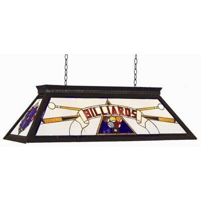 Dovie 4-Light Billiard Light Finish: Blue