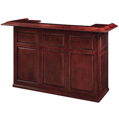 Bar with Wine Storage Finish: English Tudor