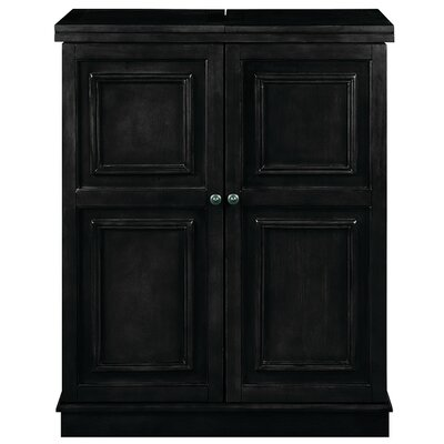 Bar Cabinet Finish: Black