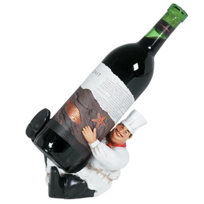 Kitchen Character 1 Bottle Tabletop Wine Rack