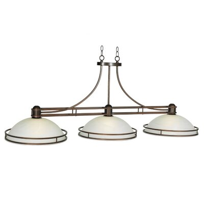 Cosmopolitan 3-Light Billiard Light