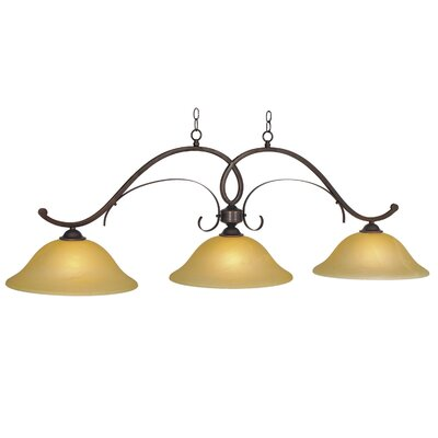 Hawthorn 3-Light Kitchen Island Pendant