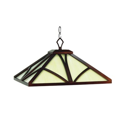 Chateau 1-Light Pendant Light Finish: English Tudor