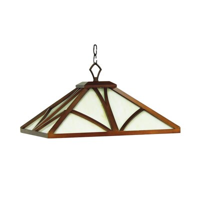 Chateau 1-Light Pendant Light Finish: Chestnut