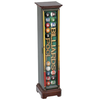 Billiards CD Multimedia Cabinet
