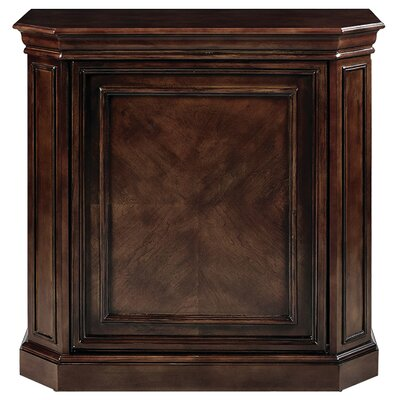 Bar Cabinet with Spindle Finish: Cappuccino