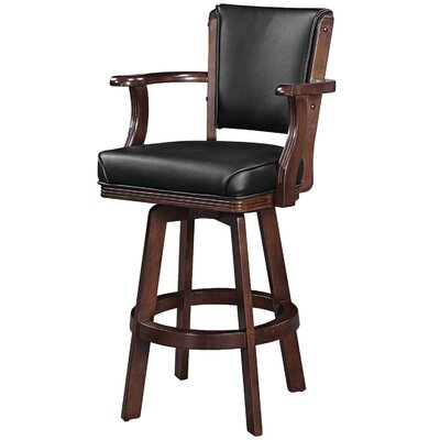 30 Swivel Bar Stool Frame Finish: Cappuccino