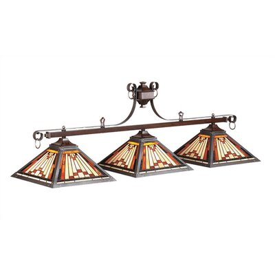 Laredo 3-Light Billiards Light