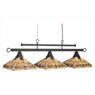 Taliesin 3-Light Billiards Light