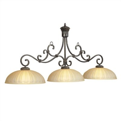 Barcelona 3-Light Billiards Light