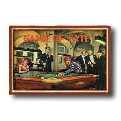 Game Room 'Game of Fate' Framed Vintage Advertisement