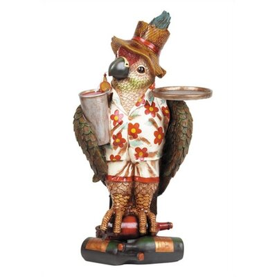 Game Room Mini Parrot Waiter End Table