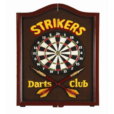 RAM Gameroom Strikers Dartboard Cabinet at Sears.com
