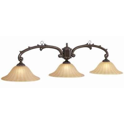 Toledo 3-Light Billiard Light