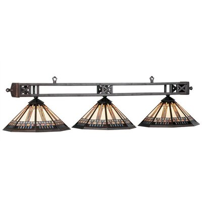 Winslow 3-Light Billiards Light