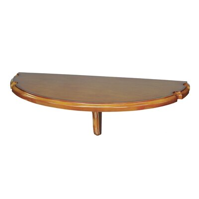 Wall Mounted Pub Table Color: Chestnut
