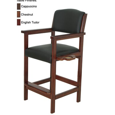 Specialty Bar Stool Frame Finish: English Tudor