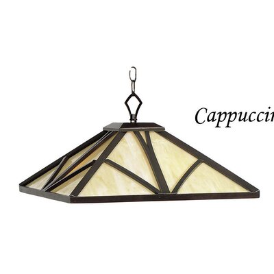 Chateau 1 Light Pendant Light Finish: Cappuccino