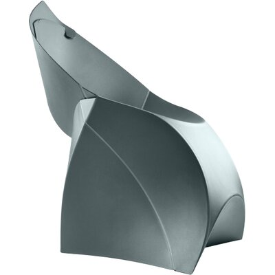 Flux Adult Chair (Set of 4) Color: Anthracite Gray