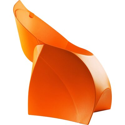 Flux Adult Chair (Set of 4) Color: Bright Orange