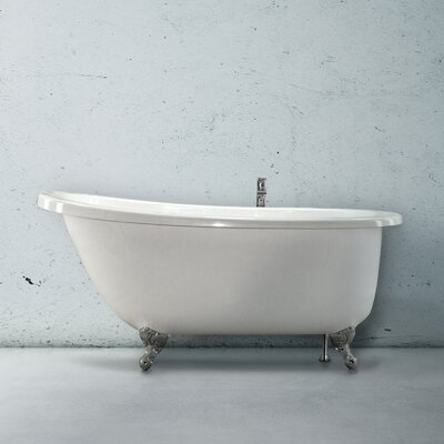 Designer Annette 65 x 36 Soaking Bathtub Finish: Red