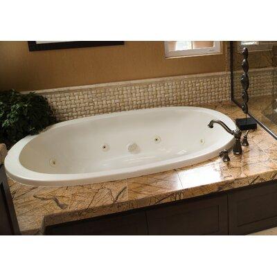 Designer Galaxie 60 x 38 Soaking Bathtub Finish: White