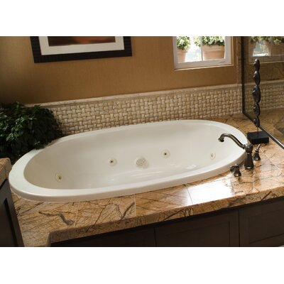 Designer Galaxie 66 x 38 Air Tub Finish: Bone