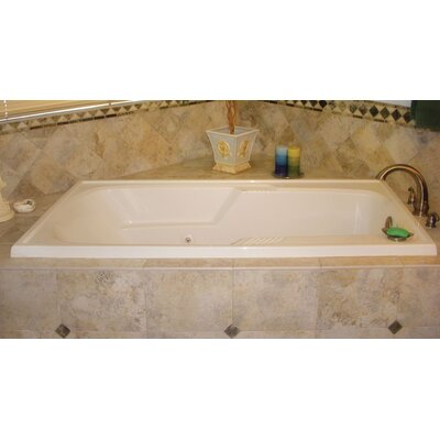 Designer Isabella 60 x 36 Soaking Bathtub Finish: Bone
